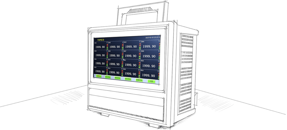 TP1000触摸无纸记录仪
