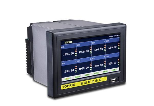 无纸记录仪在食品冷库温湿测控中的应用