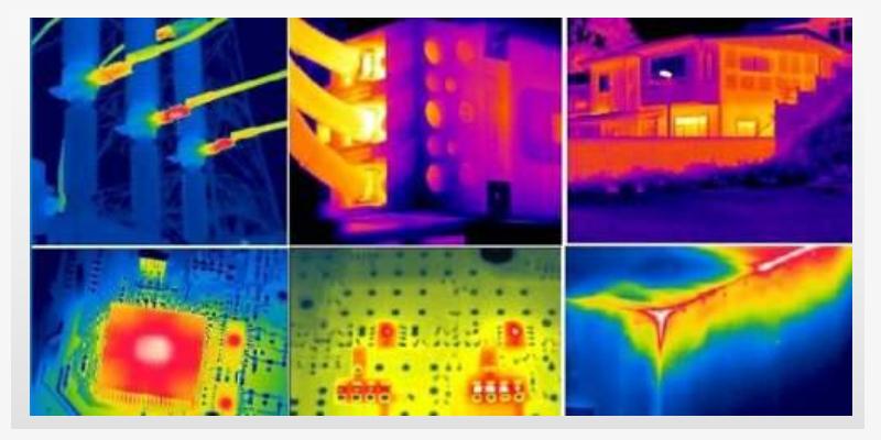 红外热像仪在工业监控行业的解决方案