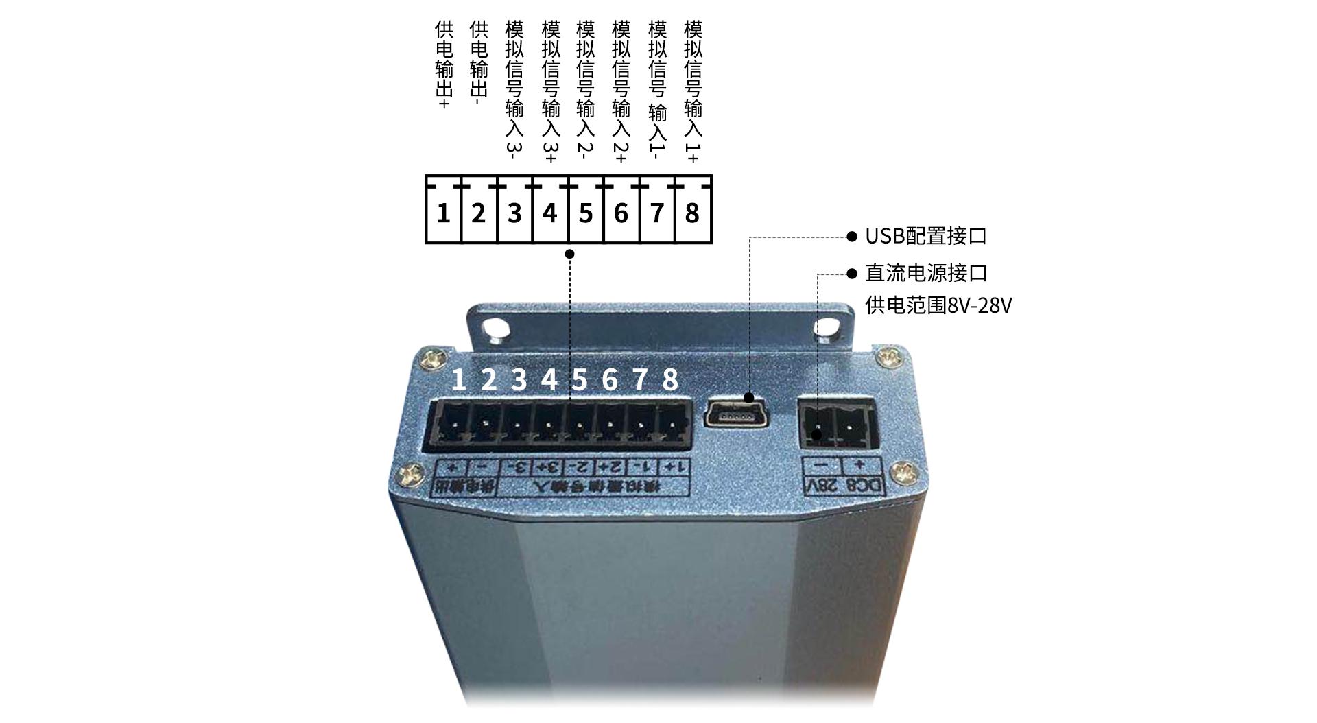 4G RTU无线采集模块