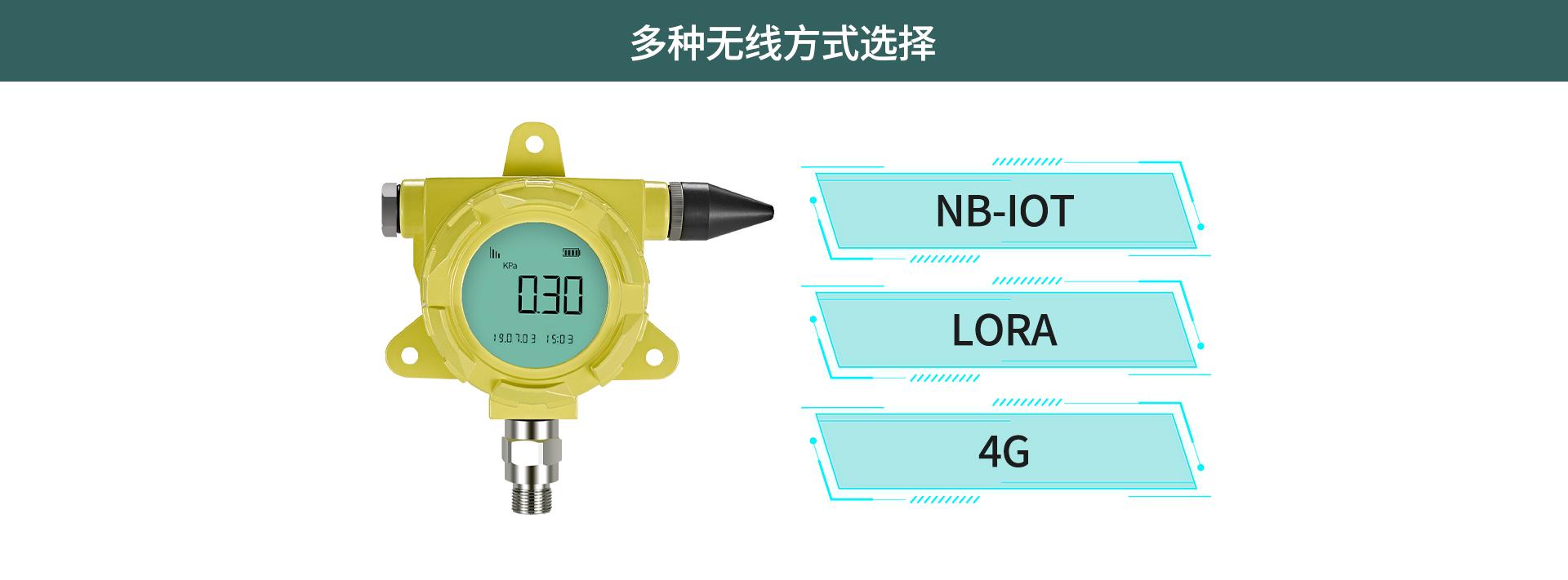防爆无线压力表