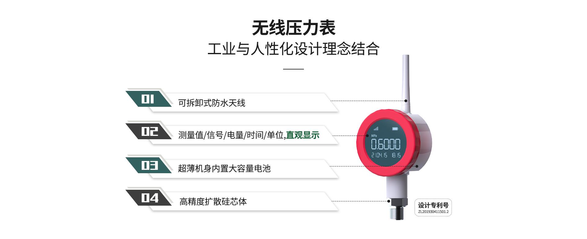 无线压力表