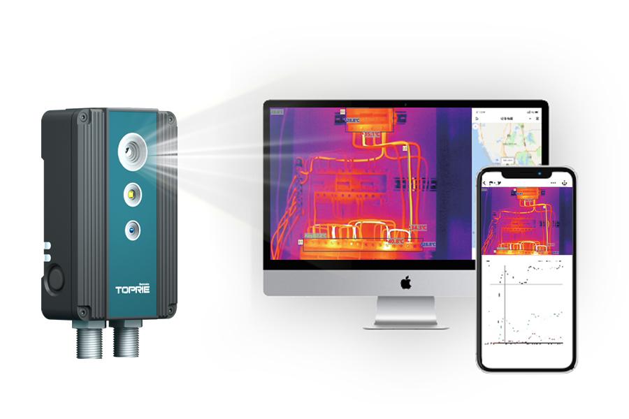 红外热成像仪在生产过程中的应用