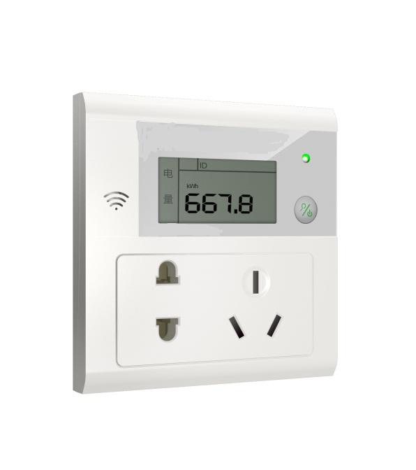 室内数据采集方案电量插座图