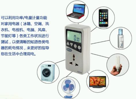 室内数据采集方案电量插座连接介绍图