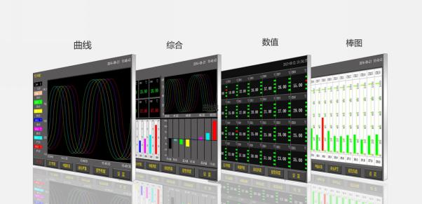 数据采集T3记录仪显示界面图